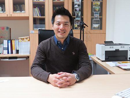 型男教授招名威博士,打造全方位PM2.5預防和治療。