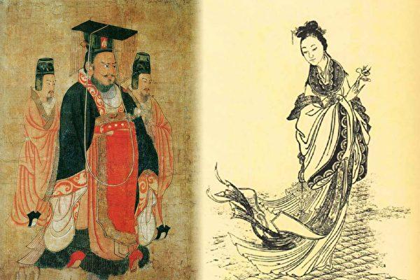 甄夫人生前沒有被曹丕封后,死後幾年,被追諡為文昭皇后,「此女貴乃不可言」的預言最終還是實現了。(公有領域)