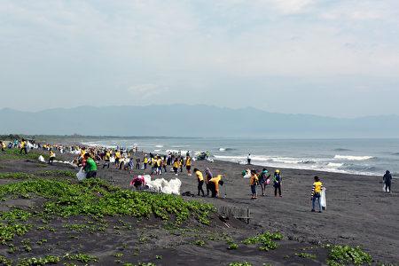 2019小镇漫游年减塑净滩爱家活动透过实际的行动,做环保、护生态、爱地球。