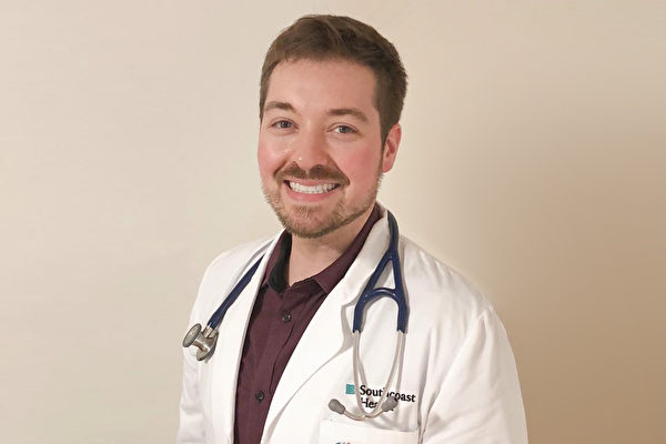 詹德鲁医师用了一年半的时间,成功减重近60公斤。(图/取自Kevin Gendreau脸书)