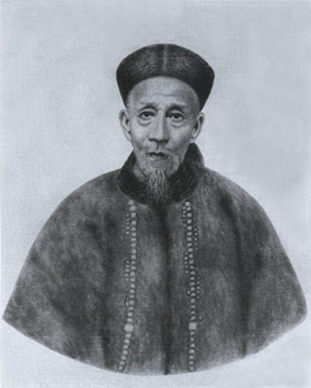 齊白石所繪譚延闓父親譚鍾麟像。(公有領域)