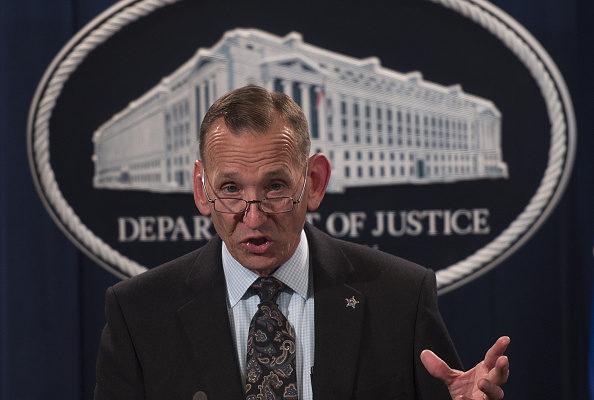 桑德斯表示,美国特勤局局长兰多夫·阿尔斯(Randolph Alles,如图)将很快离开特勤局。(Andrew Caballero-Reynolds/AFP/Getty Images )