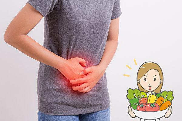 癌症等多種疾病和慢性發炎有關,正確飲食可減少發炎。(Shutterstock/大紀元製圖)