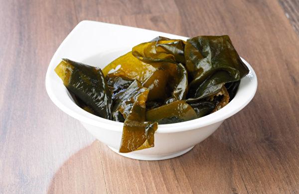 海带可帮助治疗脂肪肝,避免病情更严重。(Shutterstock)