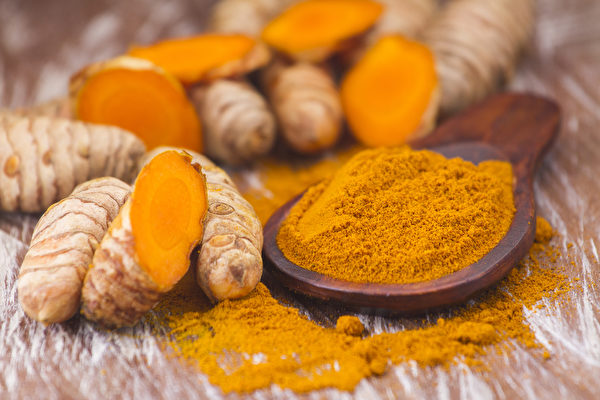 薑黃有修復受損肝臟的作用。(Shutterstock)