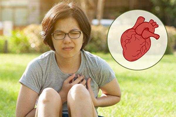 哪些症狀提醒你警惕心臟衰竭?中醫如何保養、治療?(Shutterstock/大紀元製圖)
