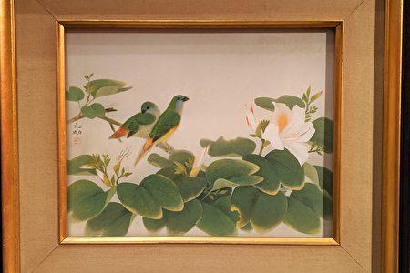 畫家林之助作品「春」。