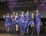 日本人气团体AAA资料照。(avex taiwan提供)