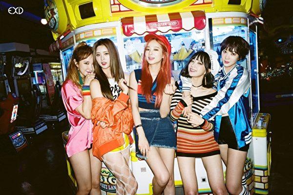 韩国人气女团EXID资料照。(华视提供)