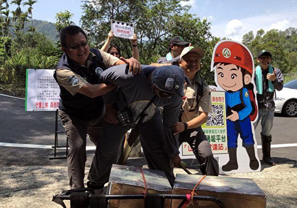 打擊山老鼠 嘉義檢警林成立盜伐通報平台