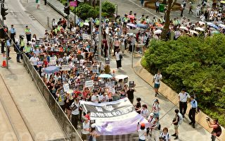 香港六千人游行争动物福利法