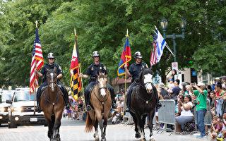 马州维州纪念阵亡将士游行 多元化展示吸睛