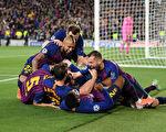 歐冠半決賽首回合:巴薩三球完勝利物浦