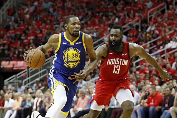 NBA西部半决赛:火箭主场加时险胜勇士