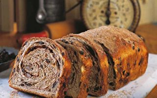肉桂葡萄乾核桃麵包