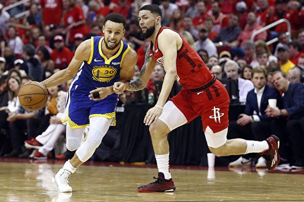 NBA西部半决赛:金州勇士4比2淘汰火箭