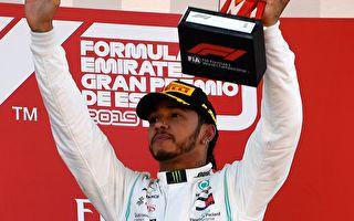 F1西班牙站:梅賽德斯連續五次包攬冠亞軍