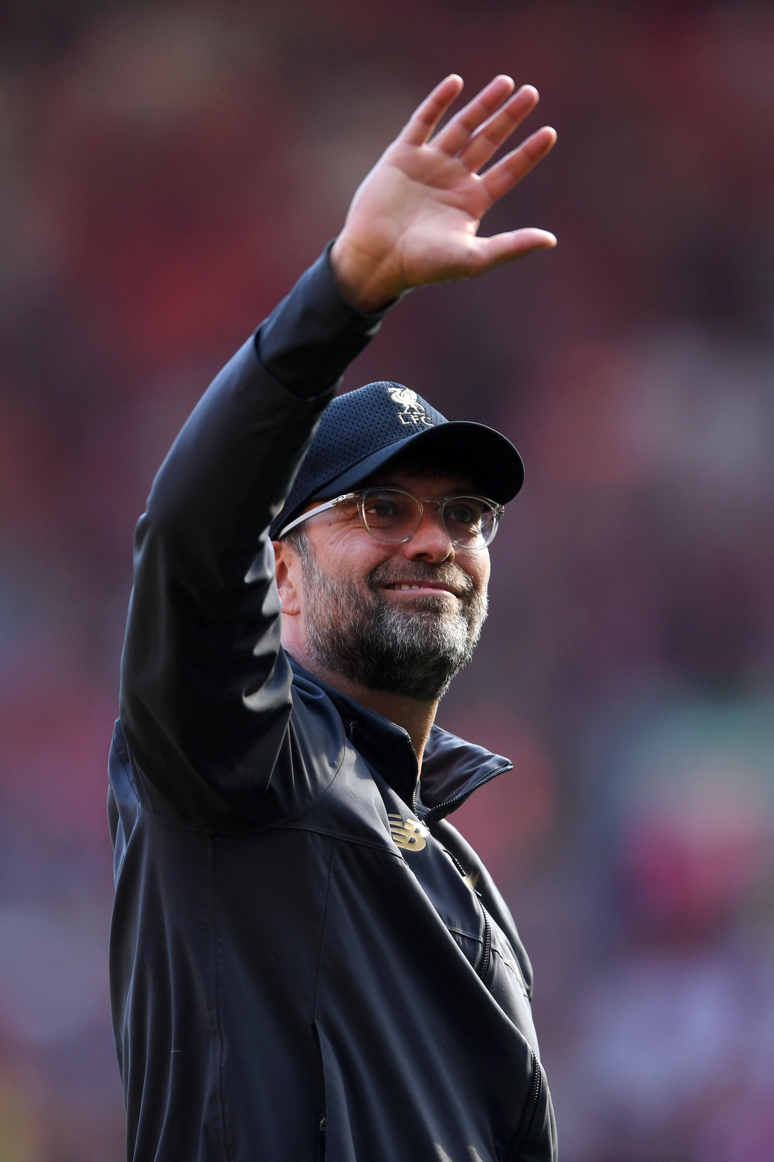 英超第38轮大结局 曼城卫冕成功 利物浦97分排第2