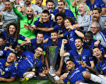 切尔西大胜阿森纳 第二次夺得欧联杯冠军
