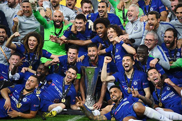 切爾西大勝阿森納 第二次奪得歐聯盃冠軍