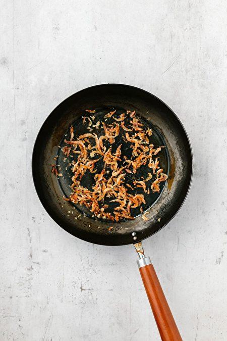 櫻花蝦絲瓜麵線