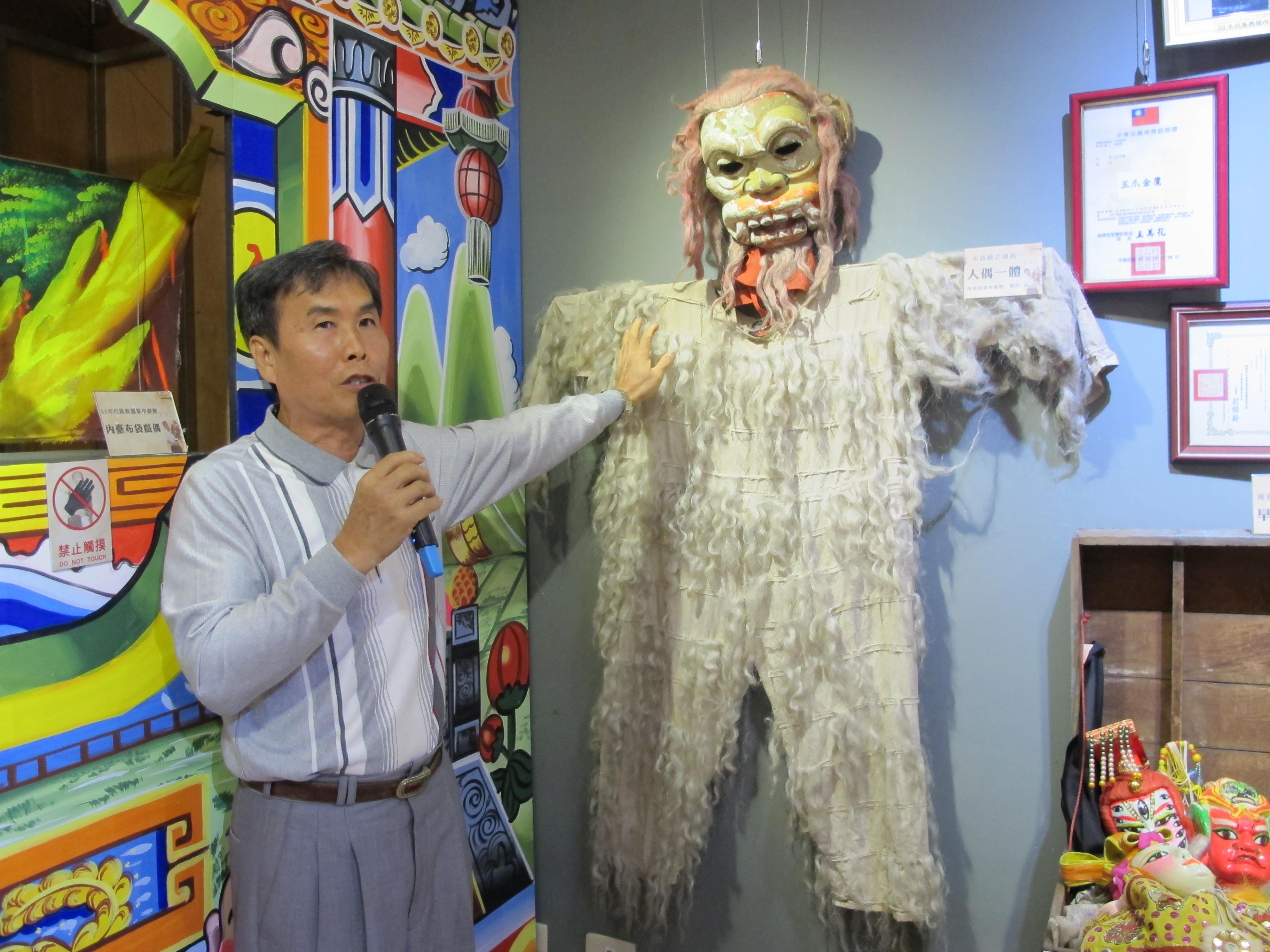 隆興閣團長廖昭堂:布袋戲是我的使命