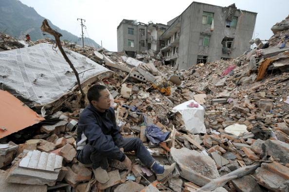 汶川地震山崩地裂的那一刻