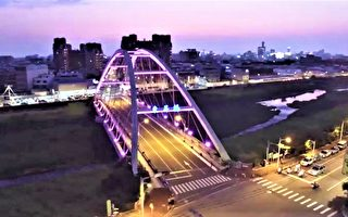 LED光雕比投射灯贵百倍 东区东昇桥再变身