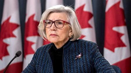 加拿大高院退休法官麦洛莲(Beverley McLachlin),今年3月被聘用,以独立调查卑诗省高管滥用公款丑闻事件。(加通社)