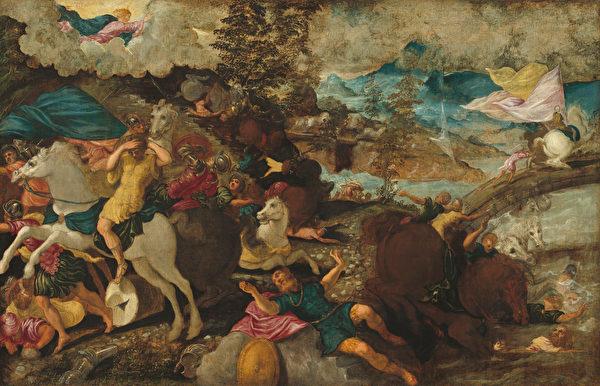 [意]卡拉瓦乔绘《圣保罗的改宗》(The Conversion of Saint Paul)。(公有领域)