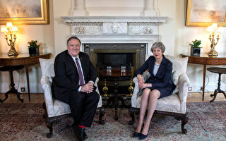华为有安全风险 美国务卿警告英国