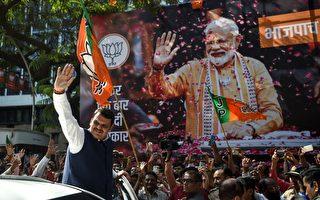 印度大选落幕 莫迪压倒性胜出 连任总理
