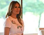 2019年5月27日,美国第一夫人Melania Trump在东京。(TOSHIFUMI KITAMURA/AFP/Getty Images)