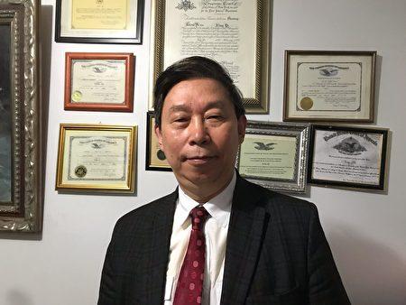 纽约地区职业律师叶宁先生向新唐人大纪元媒体,表达他对李洪志先生寿辰的衷心祝贺,并将他的贺词登载在《大纪元时报》上。