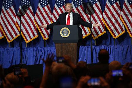 美國總統川普說,貿易戰會讓越來越多得企業離開中國,他們將移往其他亞洲國家。