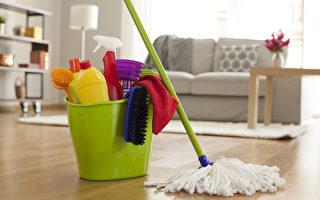 要想预防流感等病毒,居家清洁时怎样打扫最有效?(Shutterstock)