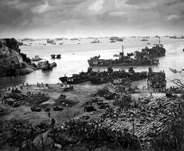 沖繩島戰役。(shutterstock)