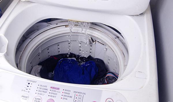 在洗衣槽中,黴菌容易繁殖。(Shutterstock)