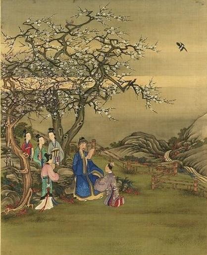 清陳士倌《聖帝明王善端錄》冊《唐太宗二》,台北故宮博物院藏。(公有領域)