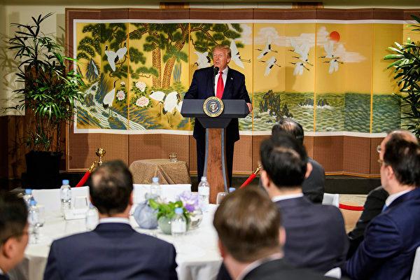川普:不会取消2500亿中国商品25%关税