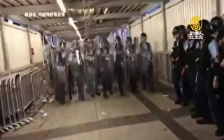肉身對抗鎮暴部隊 何韻詩理性談判影片瘋傳
