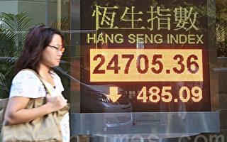 外资通过港股投资减6成 中共贸易战泄底气