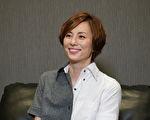 日本人氣女星米倉涼子接受KKTV專訪資料照。(KKTV提供)