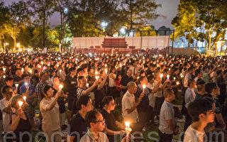 大陸民眾湧港悼六四:感謝香港人30年堅持
