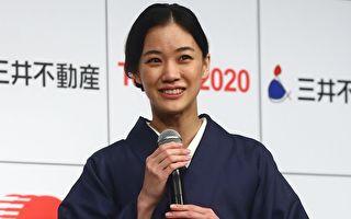 日本女星蒼井優出席活動資料照。(Chris McGrath/Getty Images)
