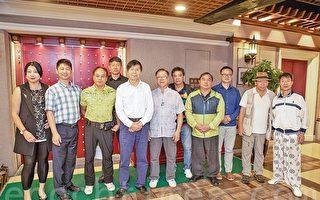 新唐人華人武術大賽評委訪港與武壇交流