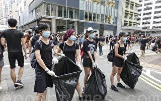 组图:友善有序 外界大赞香港公民素质