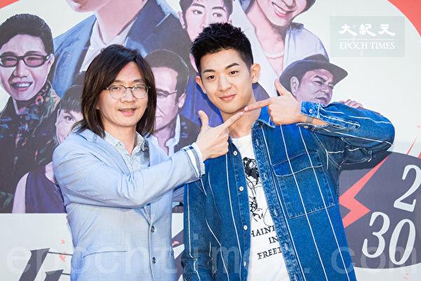 歌手林隆璇(左)與兒子林亭翰(右)