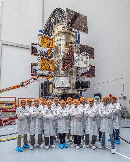 福衛7號6顆衛星與研發團隊