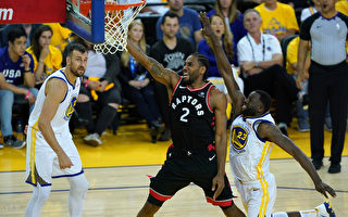 NBA總決賽:猛龍客勝勇士